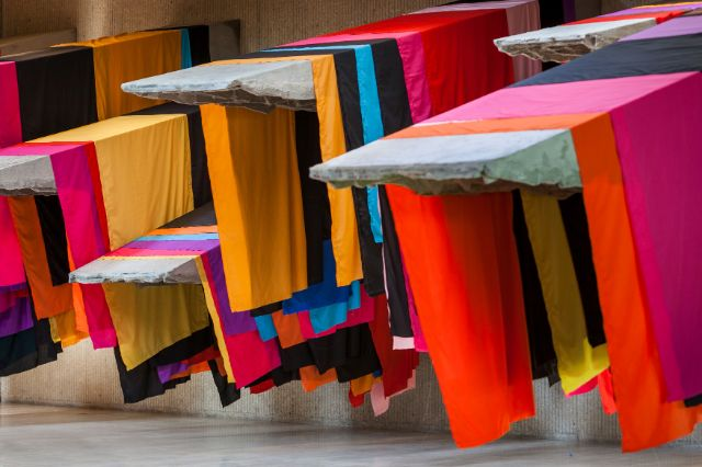 , Foto: Phyllida Barlow_untitled: 11 awnings, 2013Collection of the artist, London