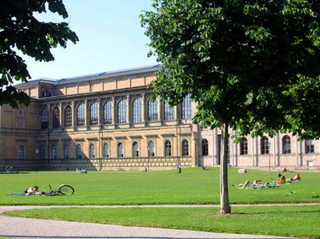 Alte Pinakothek Wiese, Foto: Baureferat der Landeshauptstadt München