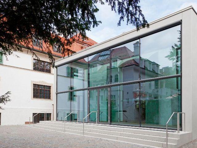 Monacensia Glasanbau, Foto: Eva Jünger
