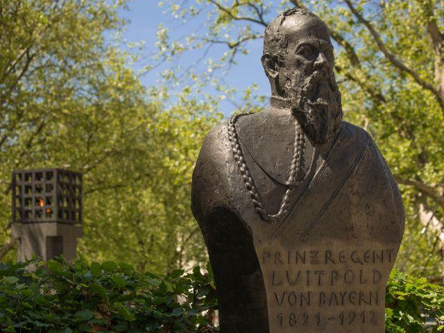 Prinzregent Luitpold von Bayern Statue, Foto: Immanuel Rahman