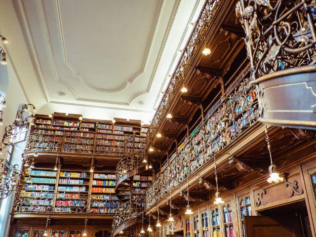 Juristische Bibliothek, Foto: Anette Göttlicher