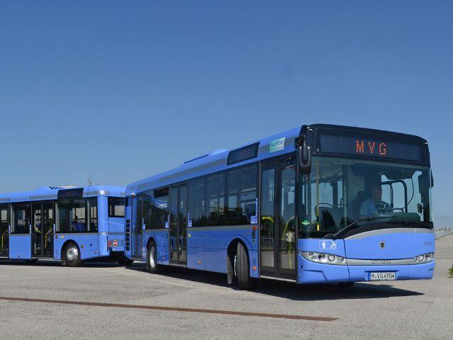 Ein Bus der MVG., Foto: SWM/MVG