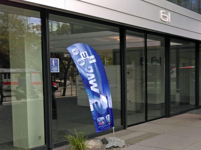 Eingang zum MVG-Fundbüro , Foto: MVG