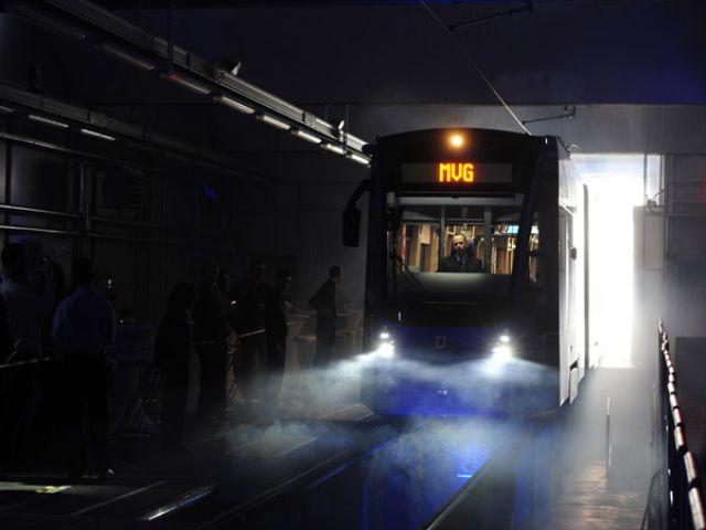 """Vorstellung des Trammodells """"Avenio"""" für den Nahverkehr München, Foto: SWM/MVG"""
