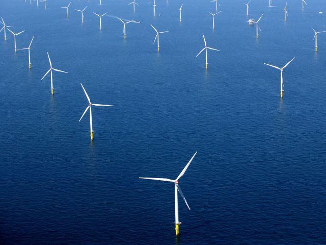 Offshore-Windpark der SWM, Foto: SWM