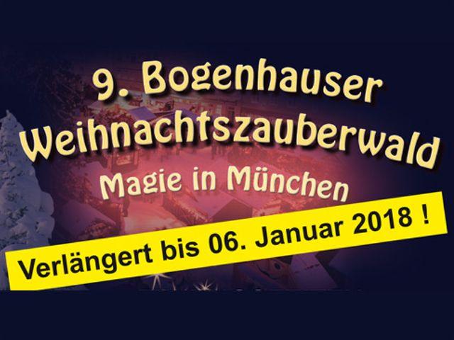 Bogenhausener Weihnachtszauberwald verlängert, Foto: Bogenhausener Weihnachtszauberwald