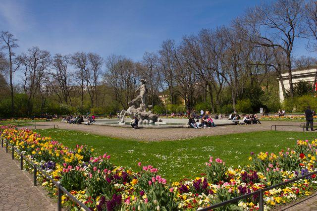 Alter botanischer Garten im Frühling, Foto: Katy Spichal