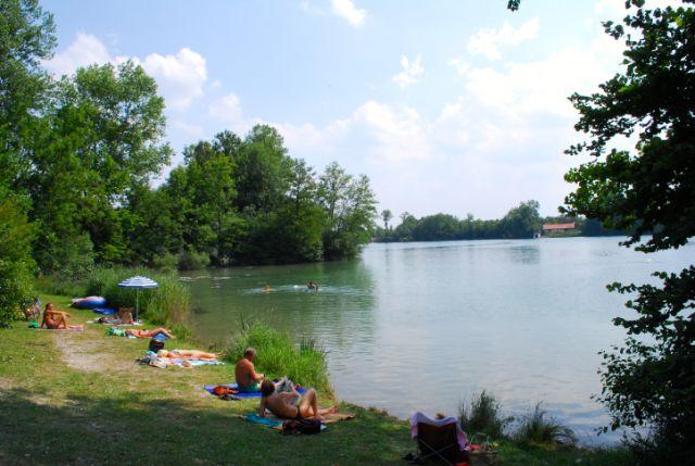 Langwieder See Badesee München, Foto: Michael Neißendorfer