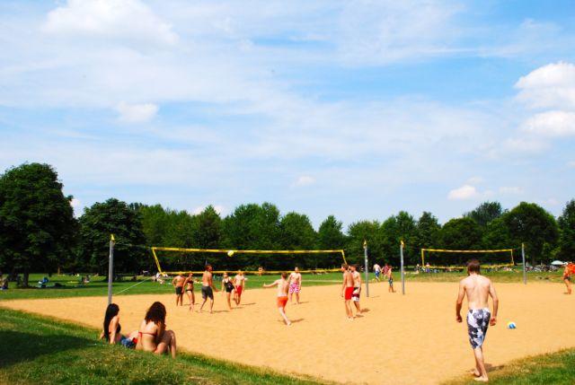 Lußsee Volleyball, Foto: Michael Neißendorfer