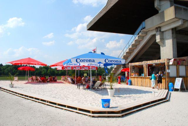 Regattaanlage Strandbar, Foto: Michael Neißendorfer