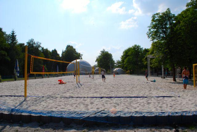 Regattaparksee Volleyball, Foto: Michael Neißendorfer