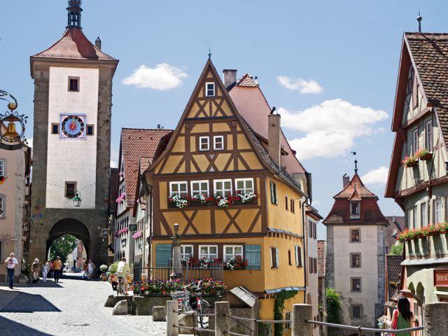 Rothenburg ob der Tauber, Foto: Tourismusamt München