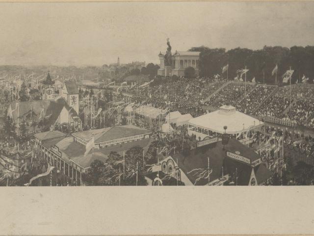Oktoberfest 1905, Foto: Georg Pettendorfer/Stadtarchiv München/FS-NL-KV-2028