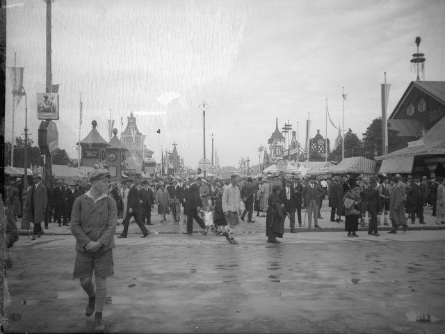 Oktoberfest 1927, Foto: Georg Pettendorfer/Stadtarchiv München/Pett3-0143