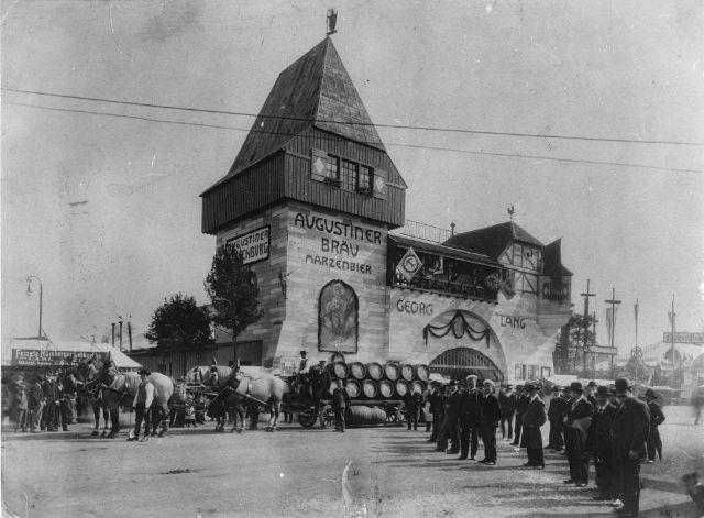 Oktoberfest 1910, Foto: Stadtarchiv München/ZBE_B1995