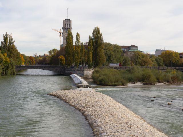 Blick von der Reichenbachbrücke gen Norden, Foto: Katy Spichal
