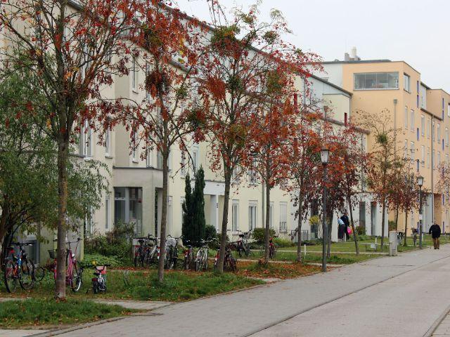 Wohnblock in Feldmoching, Foto: Christian Brunner