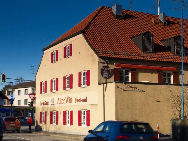 Wirtshaus Alter Wirt in Forstenried, Foto: Katy Spichal