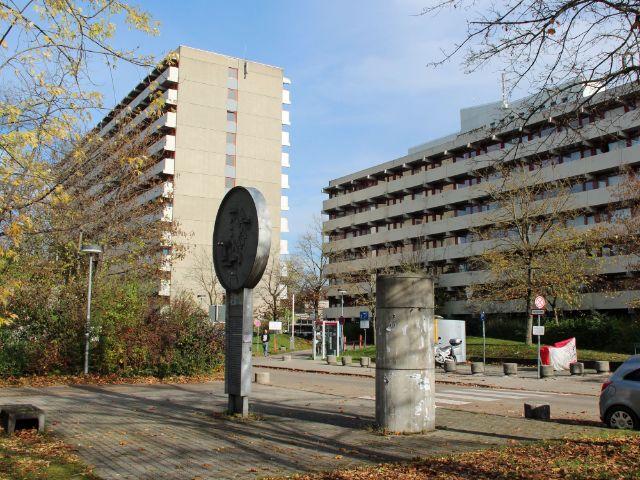 Hochhäuser der Studentenstadt Freimann, Foto: Christian Brunner