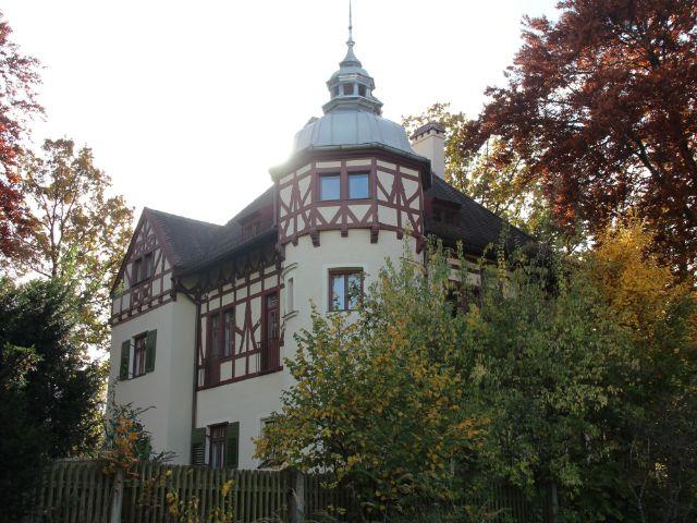 Fachwerkvilla direkt am Laimer Anger., Foto: Christian Brunner