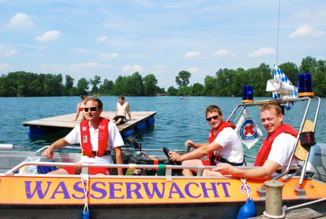 Langwieder See Wasserwacht, Foto: Michael Neißendorfer