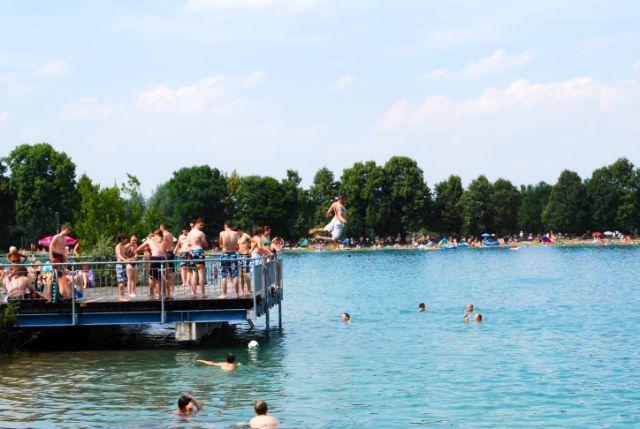 Lußsee Badesee München, Foto: Michael Neißendorfer
