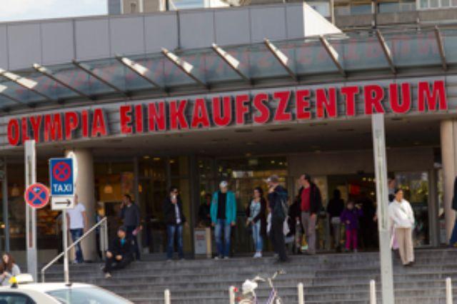Olympia-Einkaufszentrum München, Foto: Katy Spichal