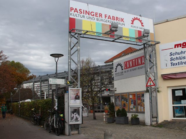 Eingang Pasinger fabrik, Foto: Christian Brunner
