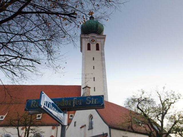 Wallfahrtskirche Maria Ramersdorf im ehemaligen Ortskern von Ramersdorf , Foto: Katy Spichal