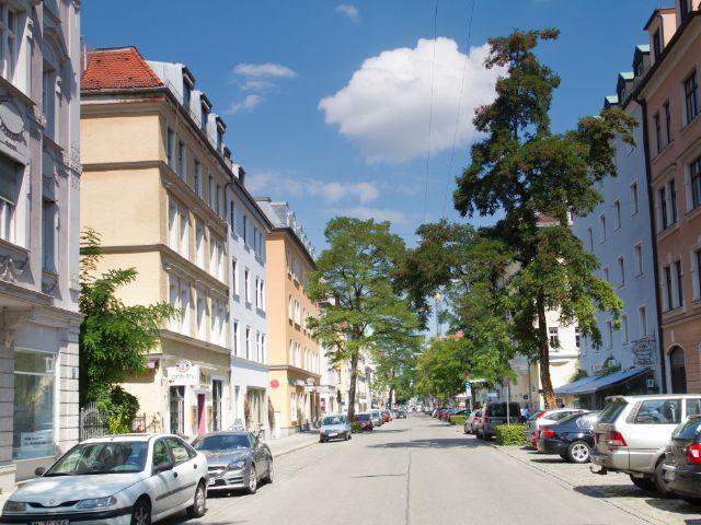 Wohngegend in München Schwabing, Foto: Katy Spichal
