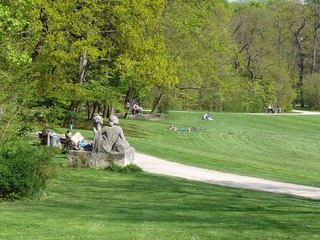 Bavariapark in München Schwanthalerhöhe, Foto: Baureferat München/Gartenbau