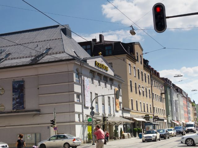Wohngegend in München Schwabing-West, Foto: Katy Spichal