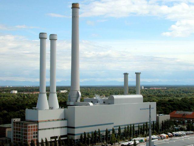 Heizkraftwerk Süd, Foto: SWM