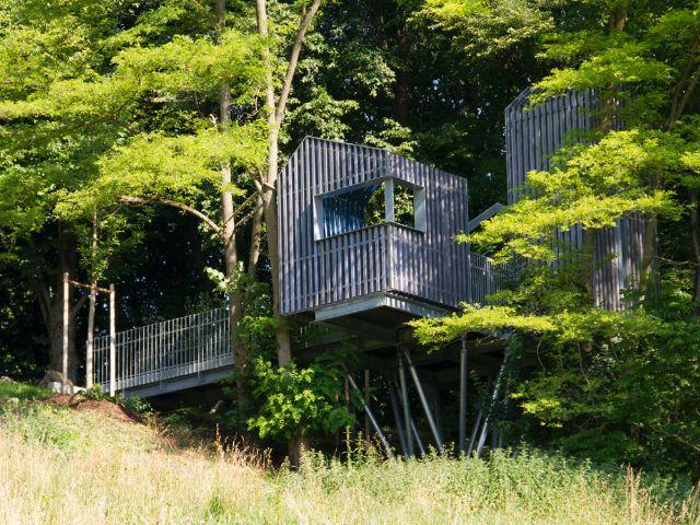 Baumhaus am Neuhofener Berg, Foto: Katy Spichal