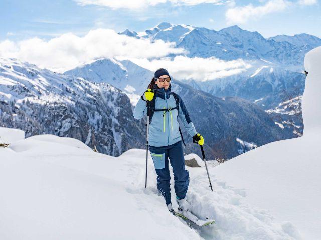 Mann bei einer Skitour, Foto: Decathlon