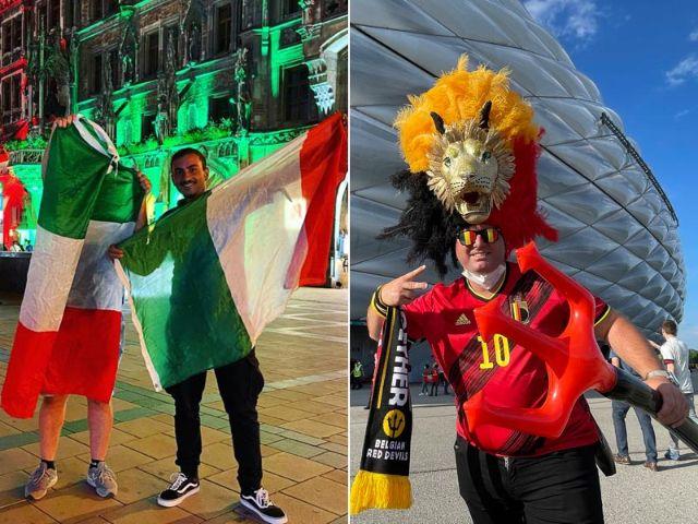 Ob am Marienplatz oder an der Arena: München ist zum Viertelfinale im EM-Fieber, Foto: muenchen.de / IMAGO / Schüler