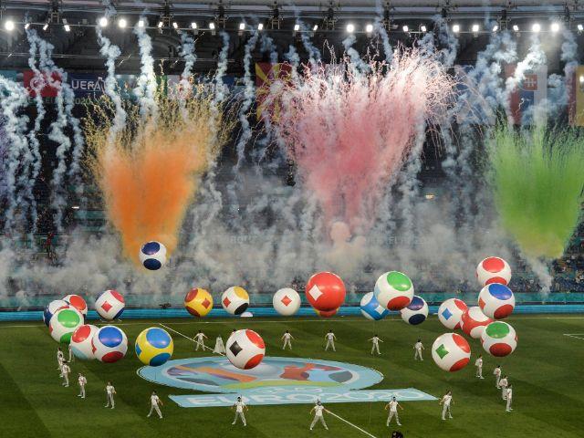 Die Eröffnungsfeier der UEFA EURO 2020 fand in Rom statt, Foto: imago images/Insidefoto