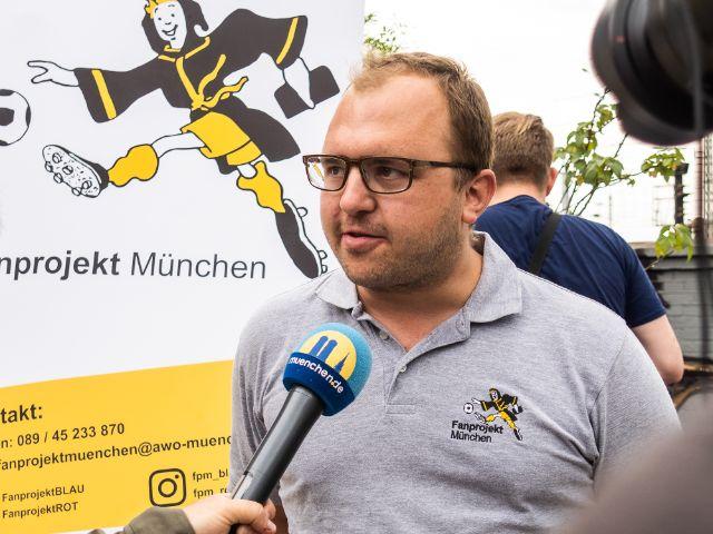 Christian Exner vom Münchner Fanprojekt, Foto: Anette Göttlicher