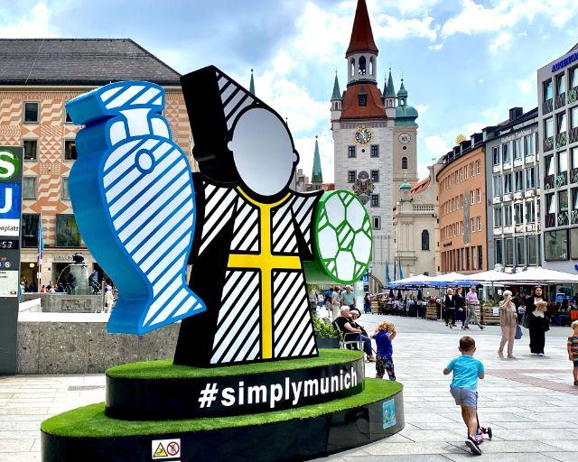 Spectacular auf dem Münchner Marienplatz, Foto: Anette Göttlicher