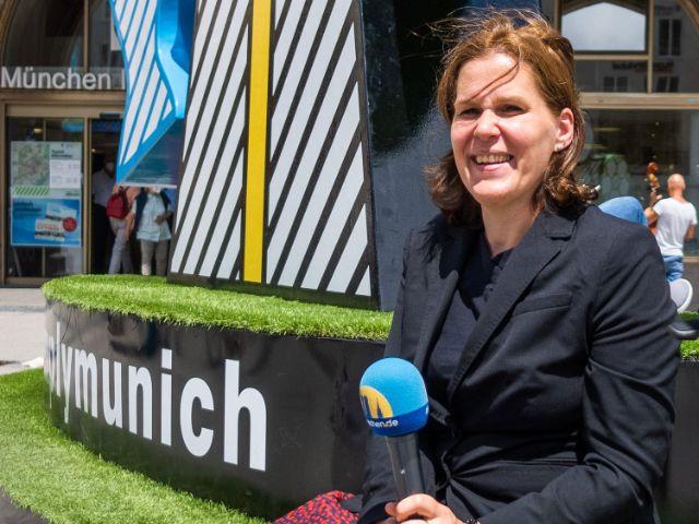 Verena Dietl, Münchens Dritte Bürgermeisterin, Foto: Anette Göttlicher