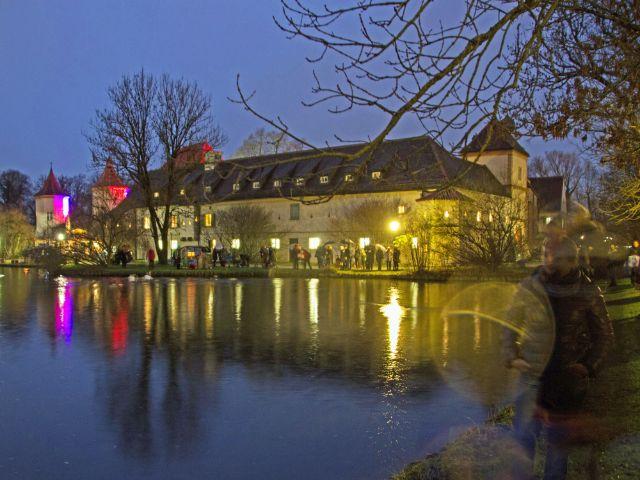 Blutenburger Weihnachtsmarkt, Foto: muenchen.de/Lukas Fleischmann