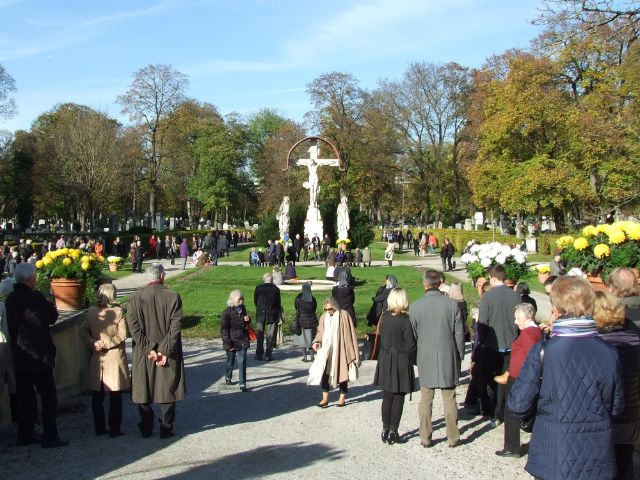 Allerheiligen am Westfriedhof, Foto: muenchen.de/Michael Hofmann
