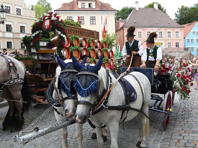 Impressionen vom Dachauer Volksfest., Foto: Stadt Dachau