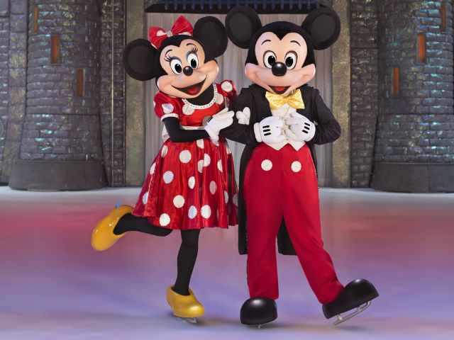 Micky und Minnie Mouse bei Disney on Ice , Foto: Feld Entertainment/Disney