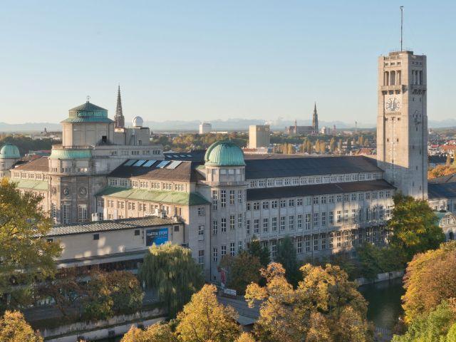 Deutsches Museum von Nordwesten gesehen, Foto: Deutsches Museum