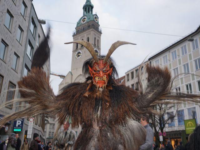 Krampus ist unterwegs, Foto: muenchen.de/ Dan Vauelle