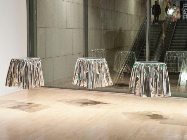 Installation von Michaela Melián, Foto: Lenbachhaus, Installation: Michaela Melián, VG Bild-Kunst, Bonn 2016