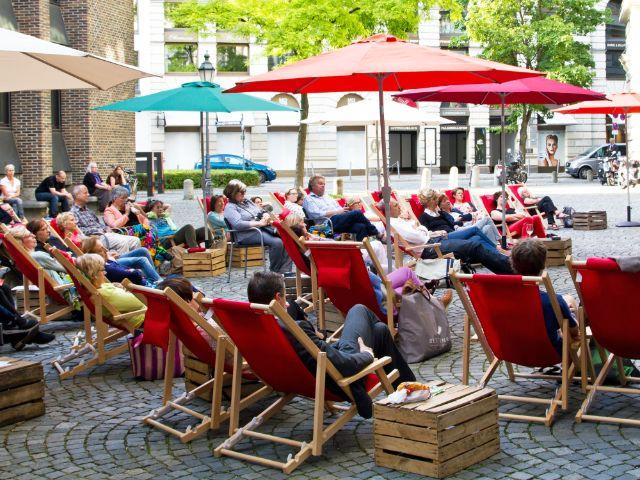Sommerlese im Literaturhaus, Foto: Literaturhaus