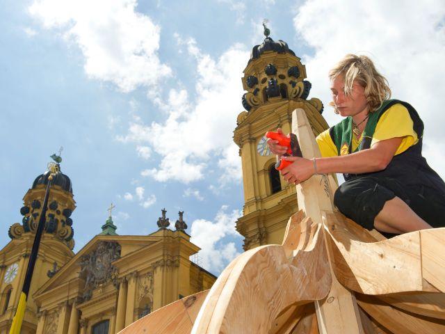 Impressionen vom Stadtgründungsfest in München., Foto: Lukas Barth