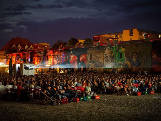 Viehhof Open Air Kino, Foto: Massimo Fiorito